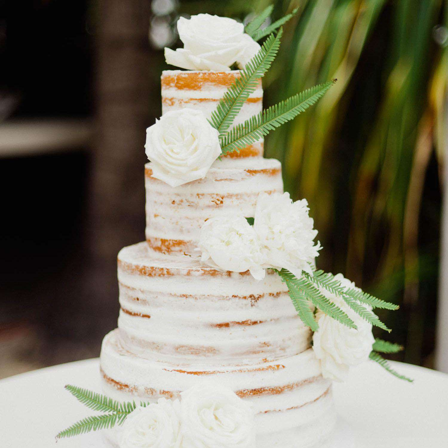 Wedding Cake Ideas Pinterest: These Minimal Naked Cakes Are Perfect