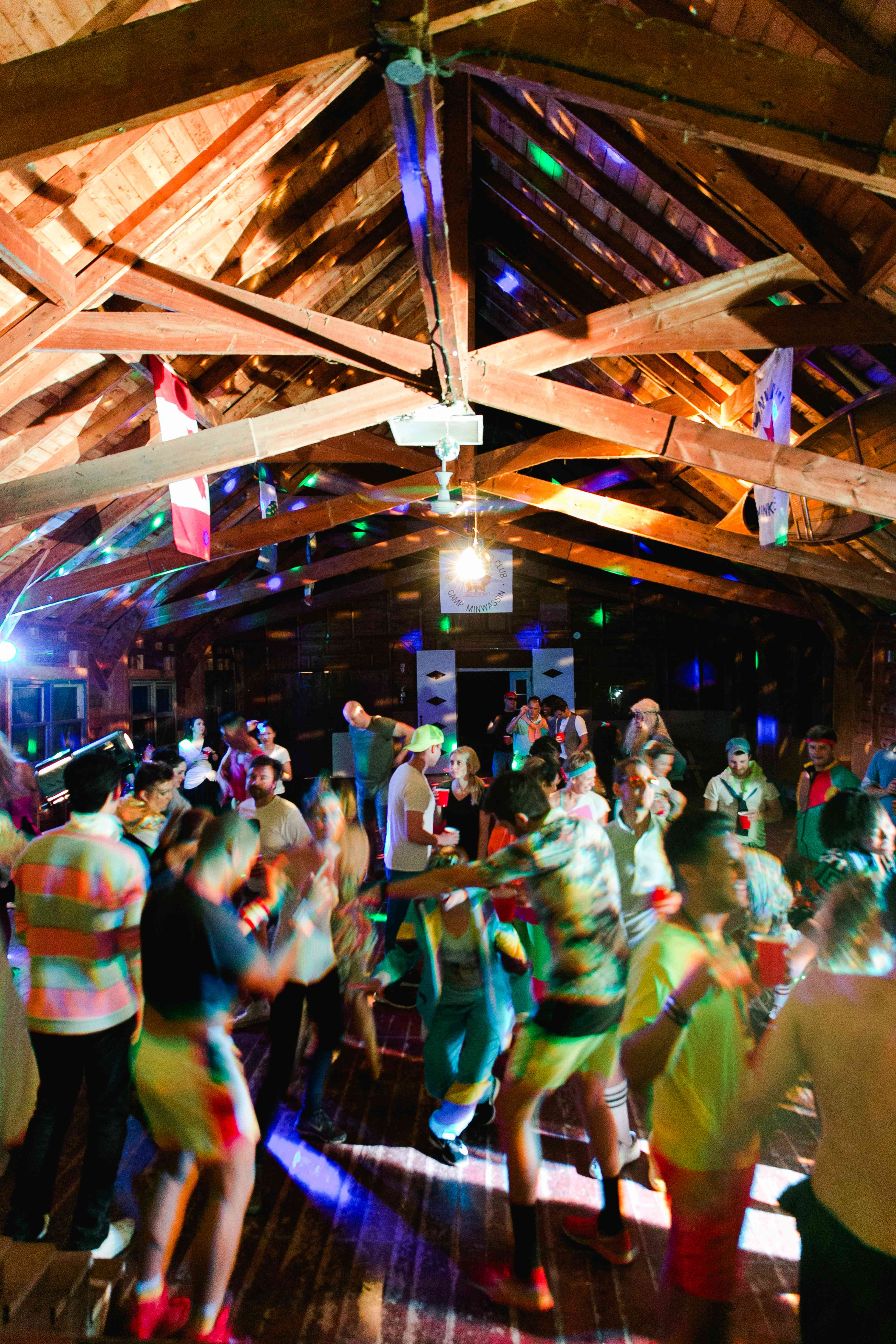 Guests on dance floor