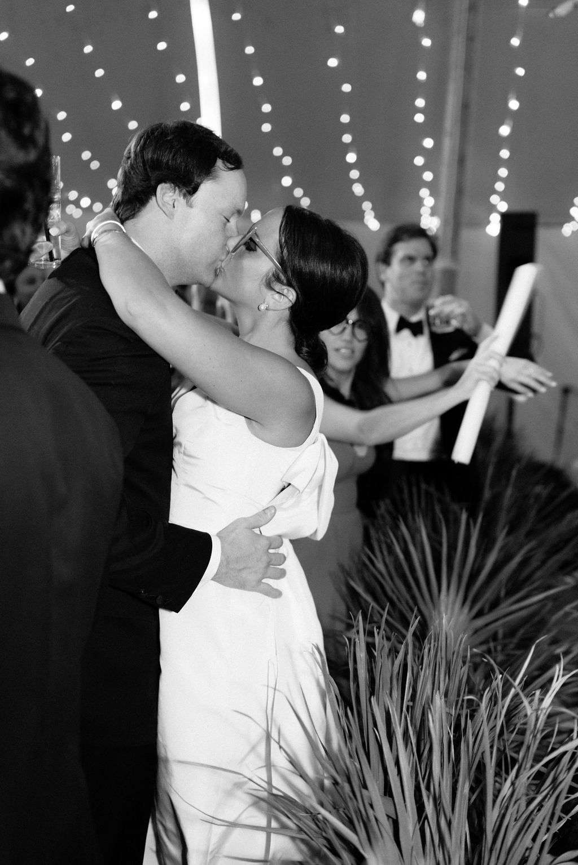 augusta wedding, couple at reception