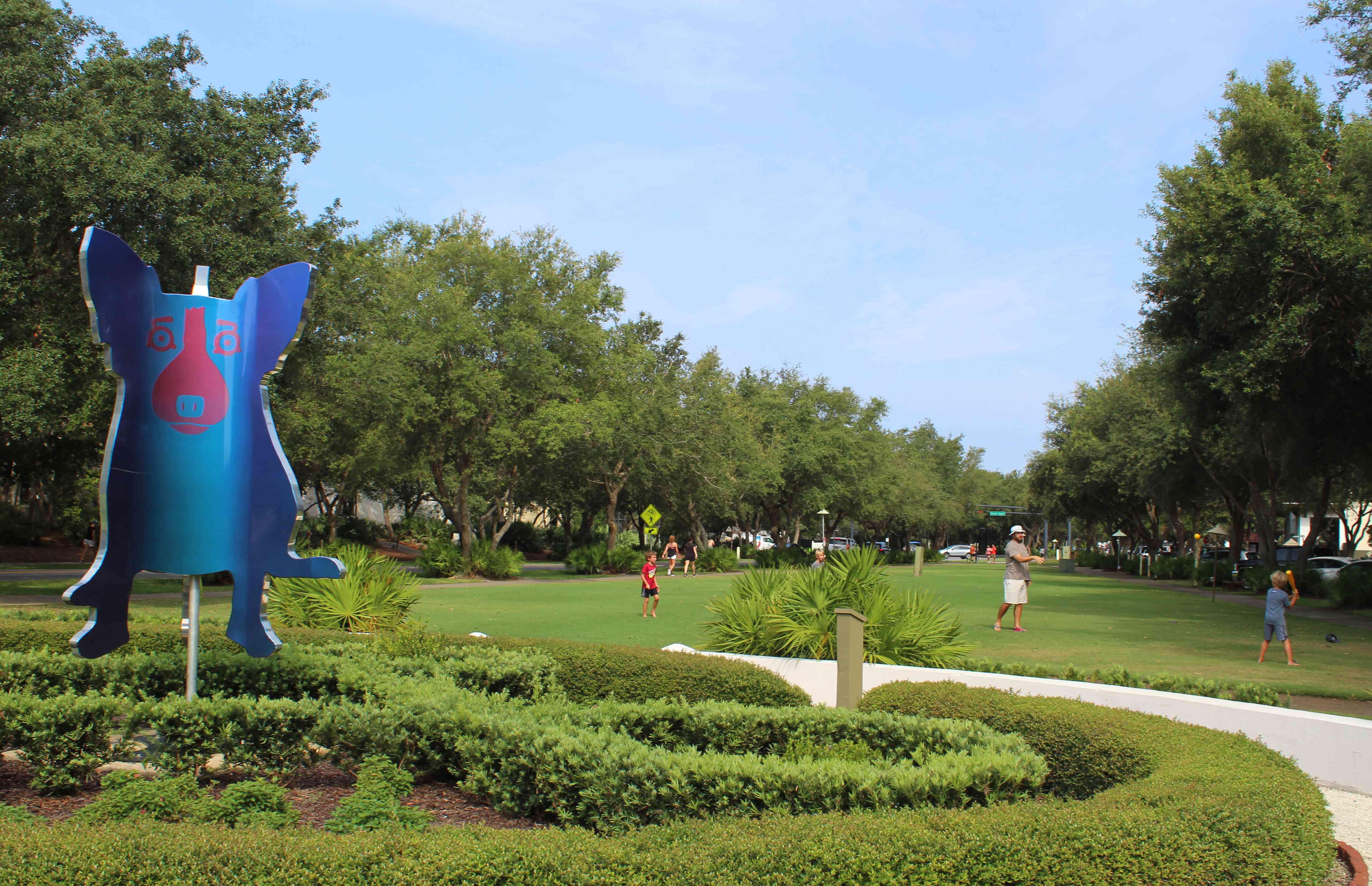 sculpture garden in miami