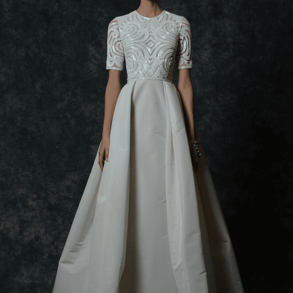 Naeem Khan Arcadia gown