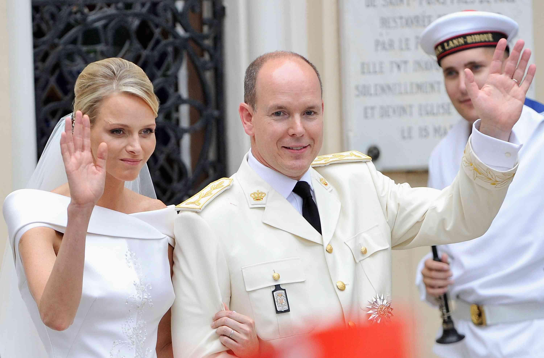Princess Charlene and Prince Albert II