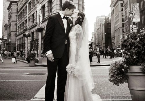New York City Bride and Groom