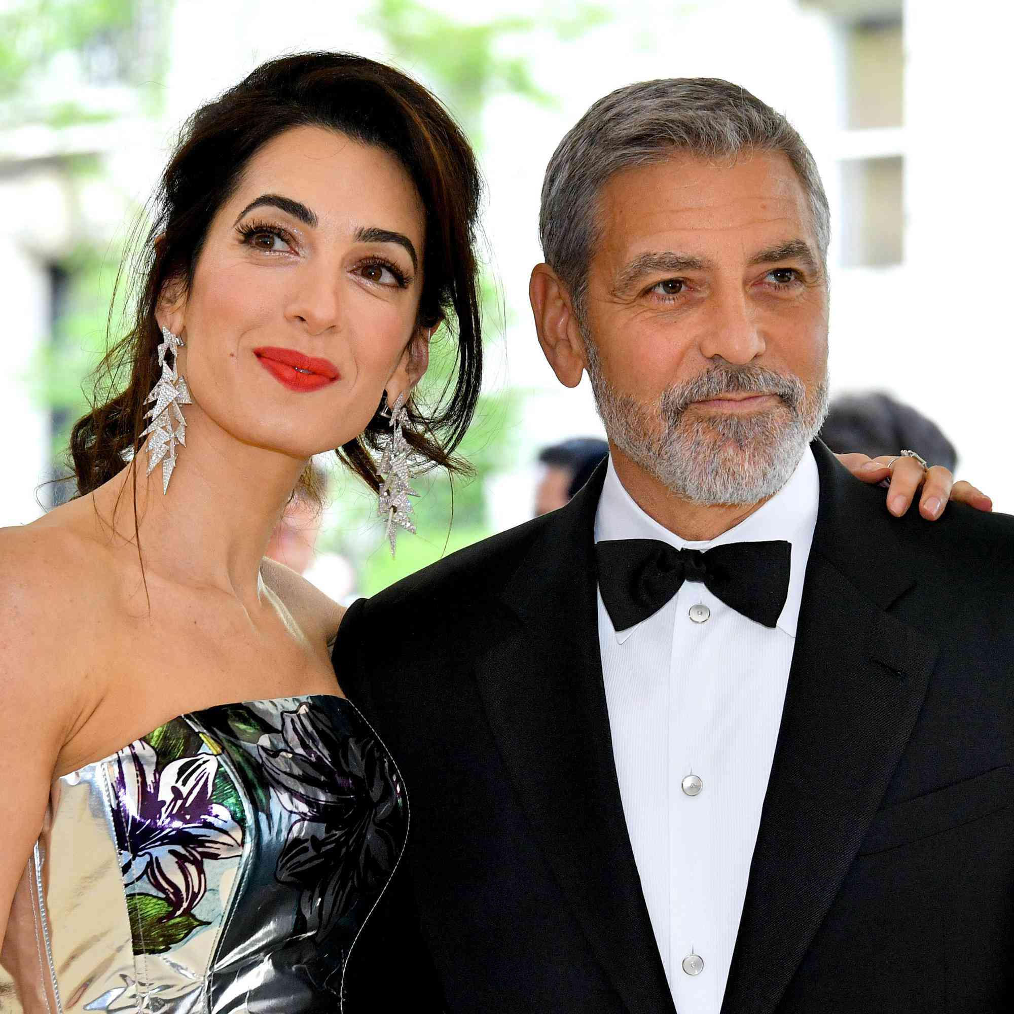 George And Amal Clooney Set To Attend Royal Wedding