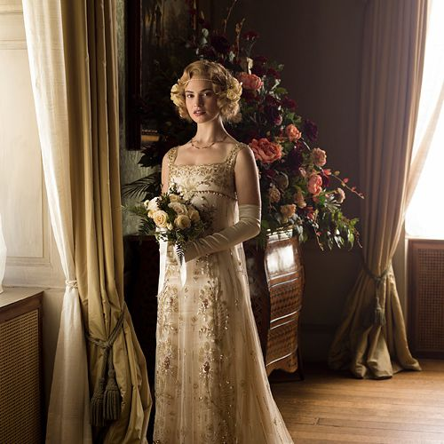 downton abbey weddings lady rose