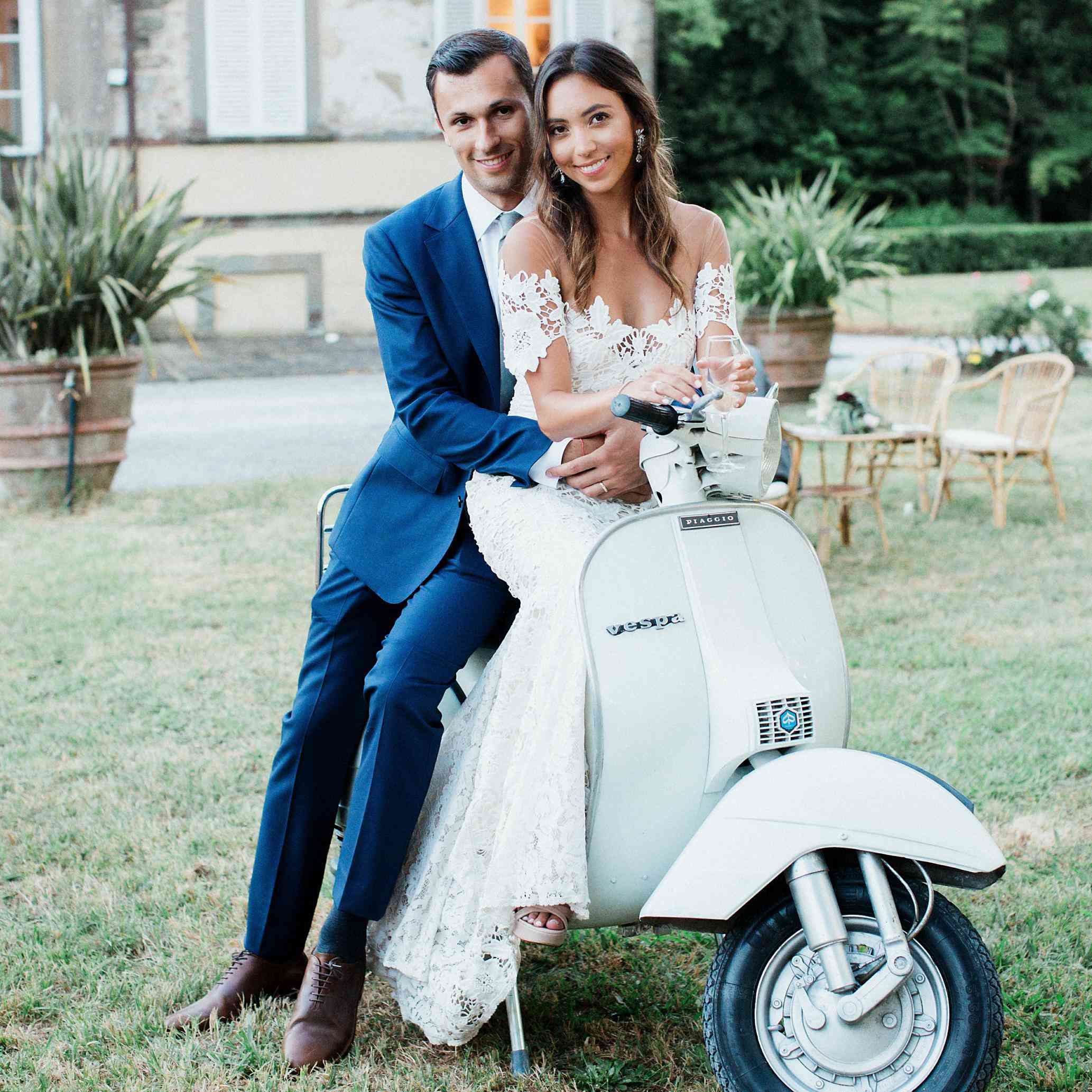 Real Weddings In Tuscany
