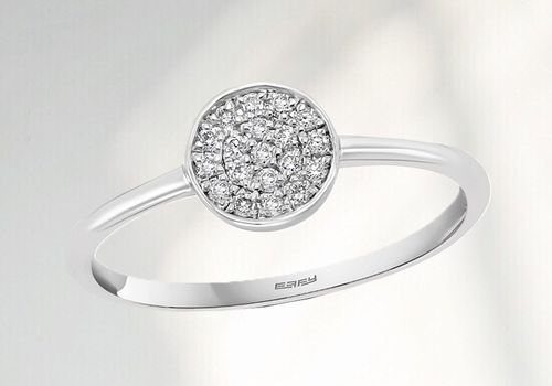 composite diamond ring
