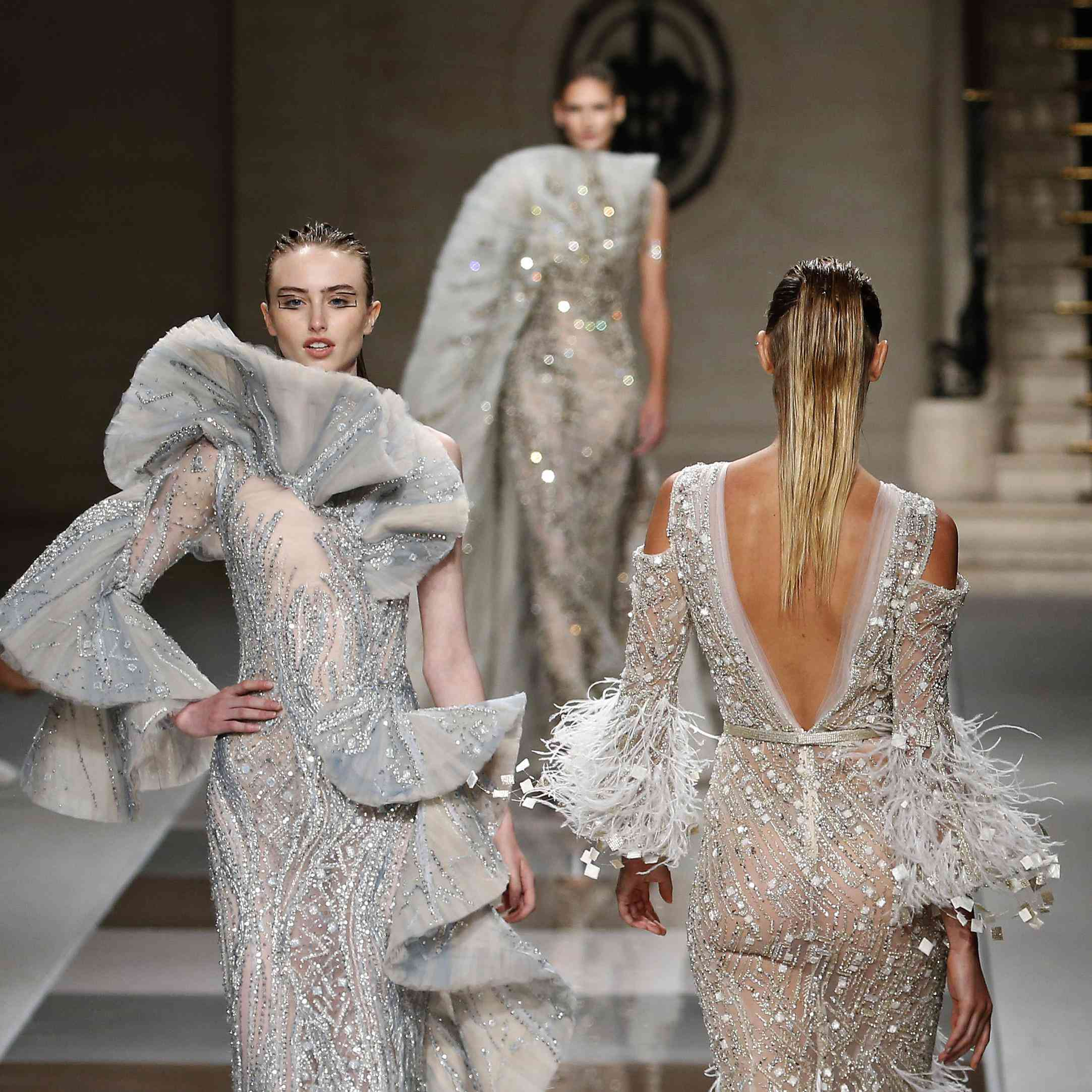 39 wedding dresses from couture fashion week every bride-to
