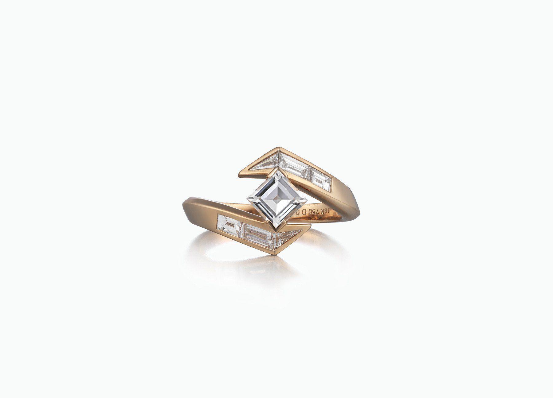 Tomasz Donocik Stellar Engagement Ring