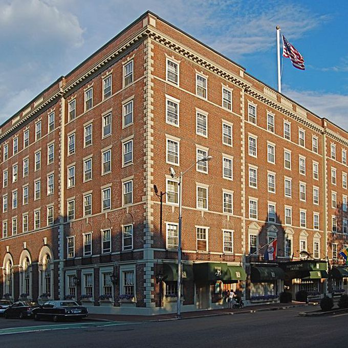 The Hawthorne Hotel's has been a dream venue since the hotel opened in 1925. The Grand Ballroom offers beautiful views of the city's historic Common that brides and grooms will love for a fall wedding. And it also offers a few bewitching extras, like the mysterious smell of apples that often drifts through the hotels. That may be thanks to Bridget Bishop, who owned an apple orchard where the hotel now stands and was the first person executed in the Salem witch trials. Named one of Travelocity's Top 10 Haunted Hotels, it's no surprise the hotel has had reports of other paranormal activity like hands touching guests in room 325, a phantom child who won't stop crying, and a woman seen roaming the halls