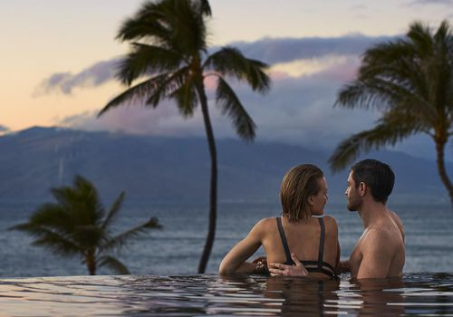 <p>The adults-only pool at the Four Seasons Resort Maui at Wailea, Hawaii</p>