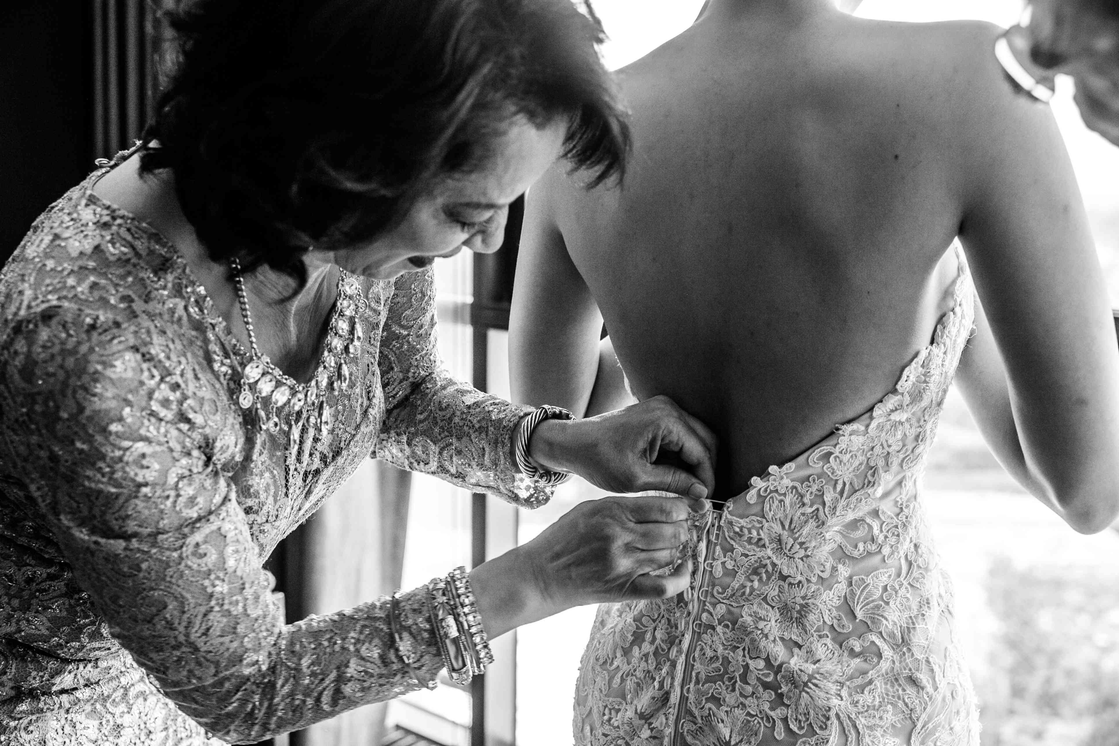 <p>Mother of the Bride with Bride</p><br><br>