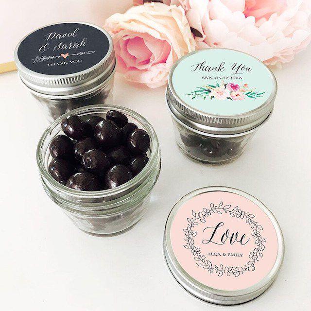 mason jar wedding favor