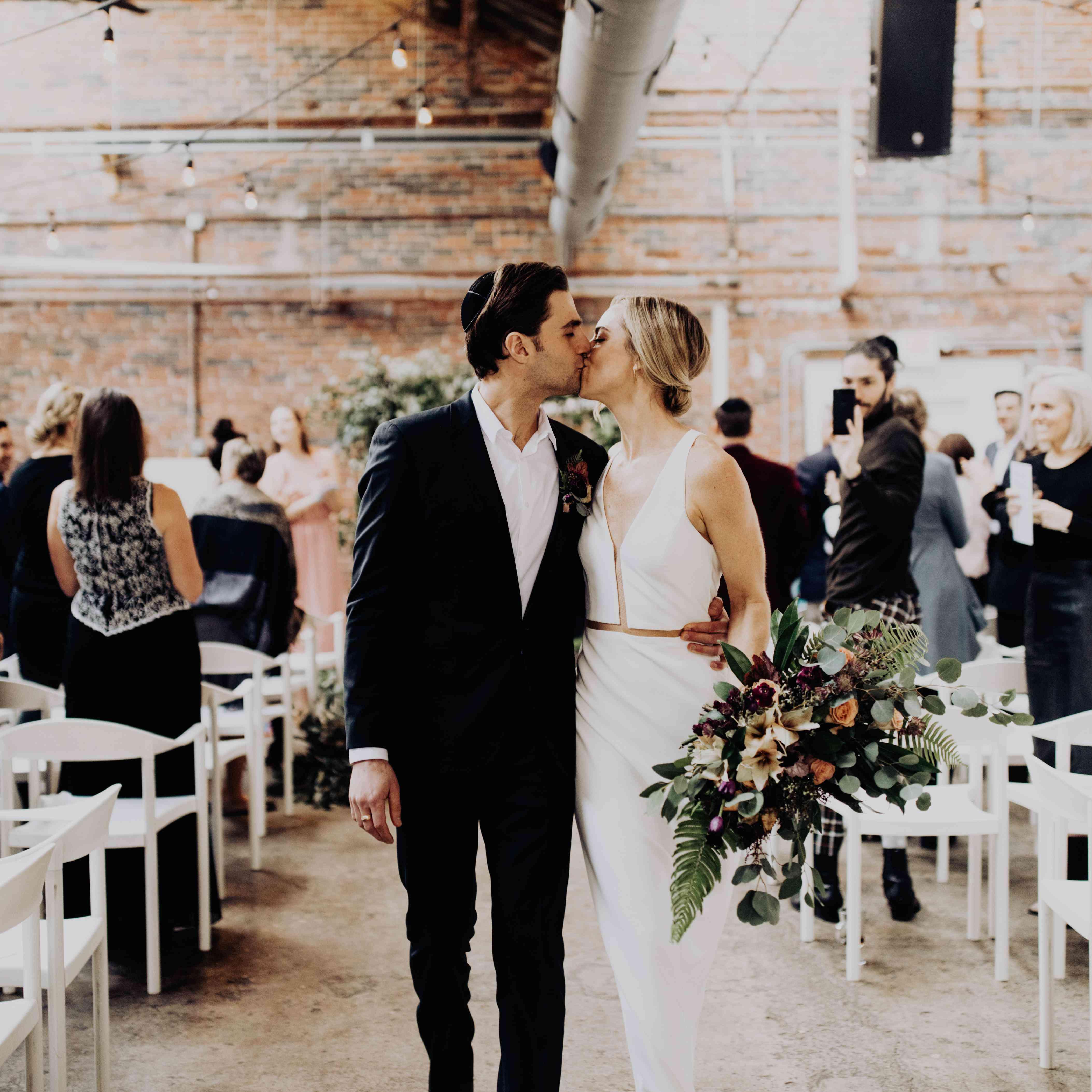 A Sunday Brunch Wedding In Columbus, Ohio