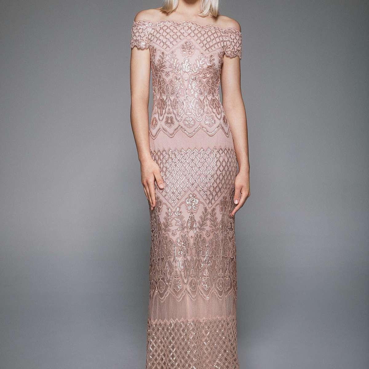 rose gold dress
