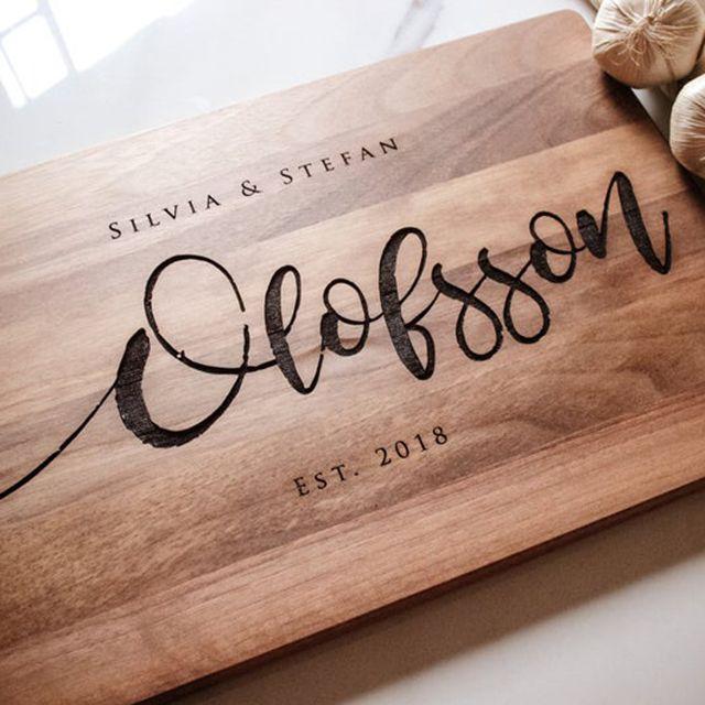 Personalized Gift Box Custom Cutting Board