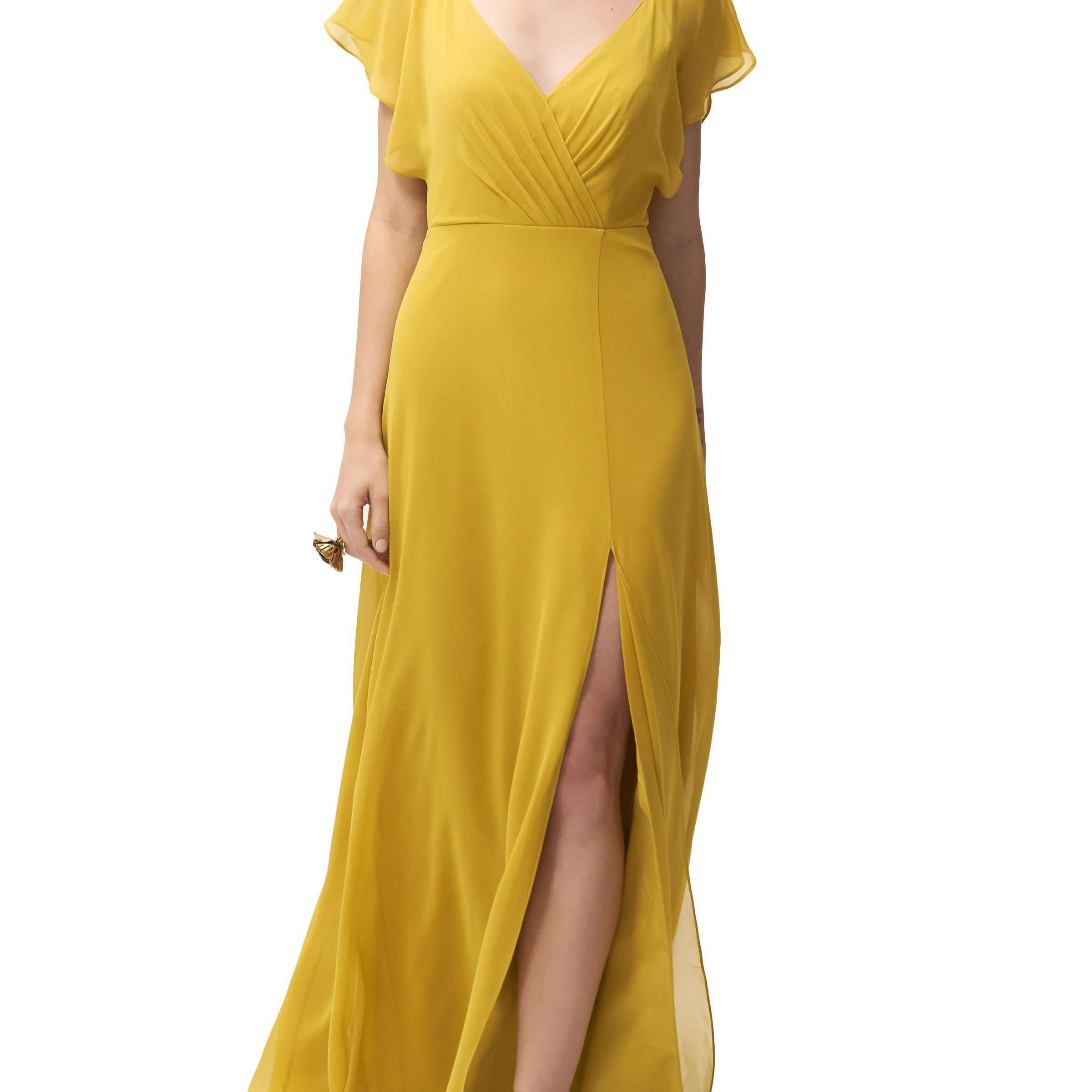 18 Yellow Bridesmaid Dresses Perfect For A Late Summer Or Fall Wedding