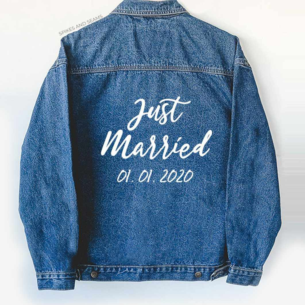 just married jacket
