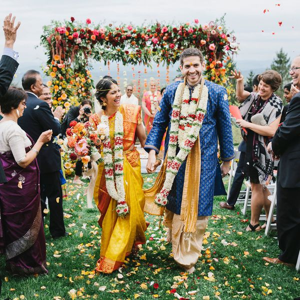 Christopher Neufeld and Maanasa Indaram were married at Cedar Lakes Estate in the Hudson Valley.