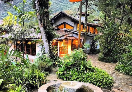 Lodging in tropical woods
