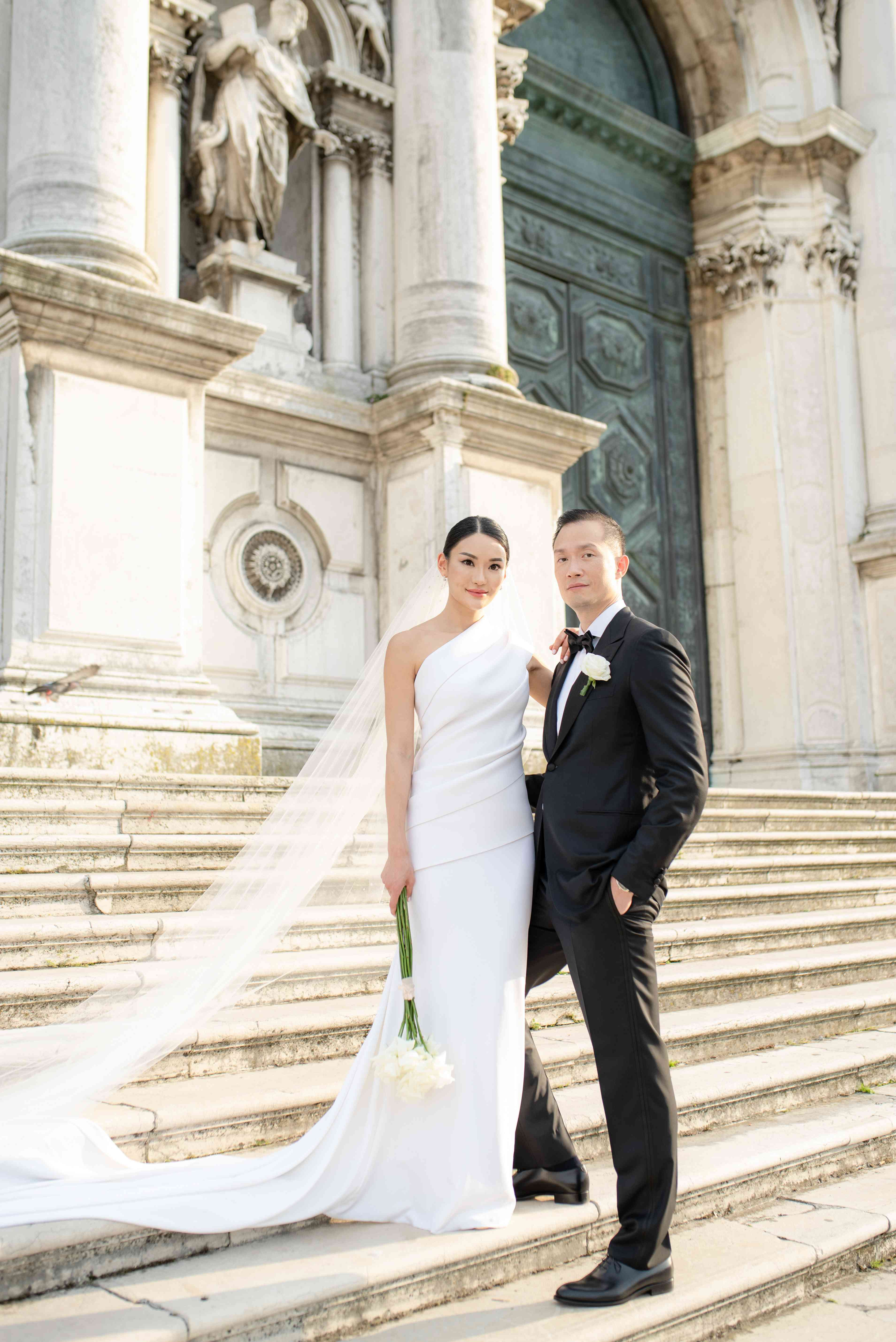 A Sophisticated Modern Wedding In Historic Venice