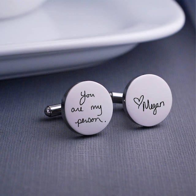 Georgie Designs Personalized Cufflinks