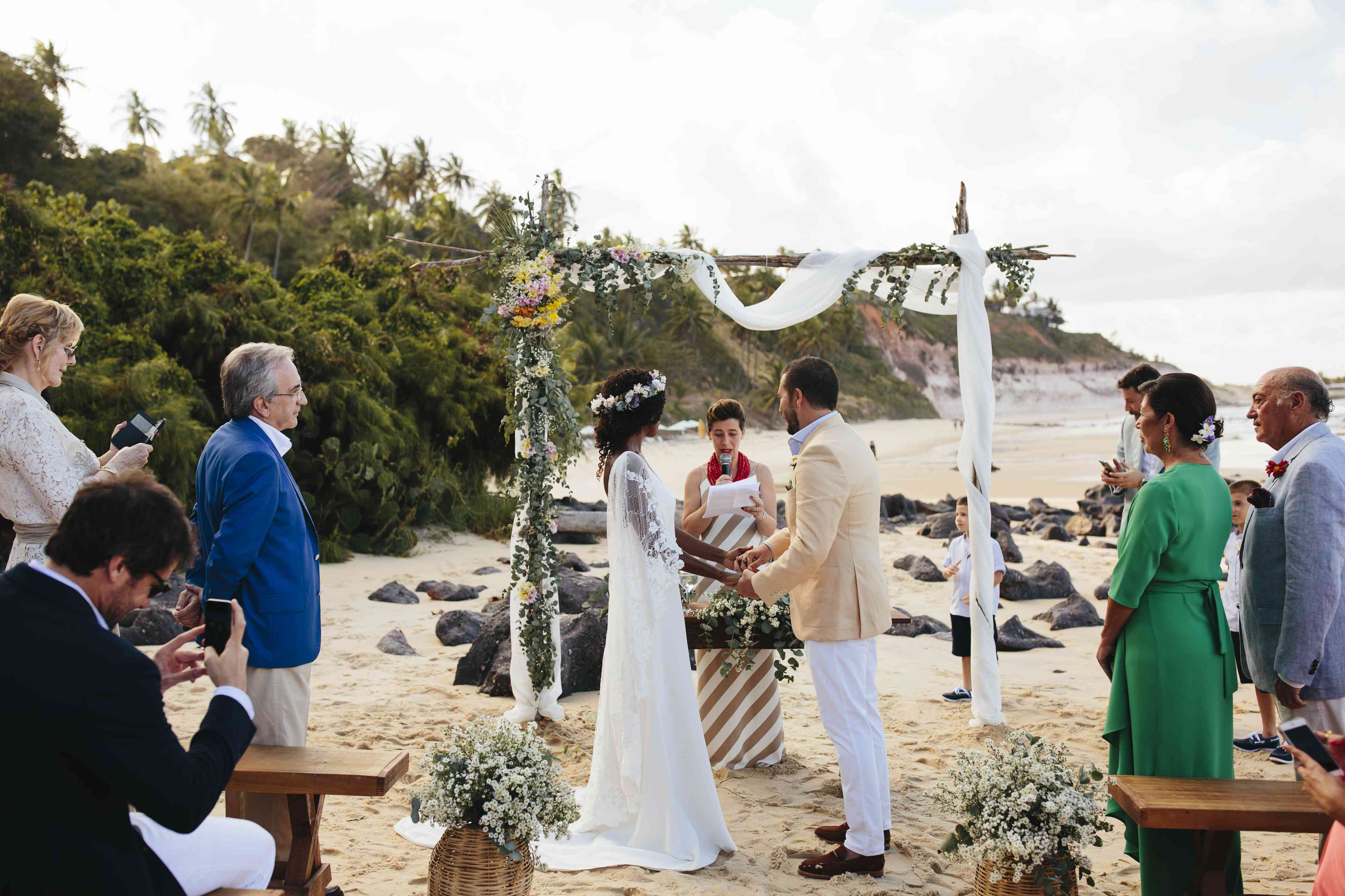 ceremony exchanging vows