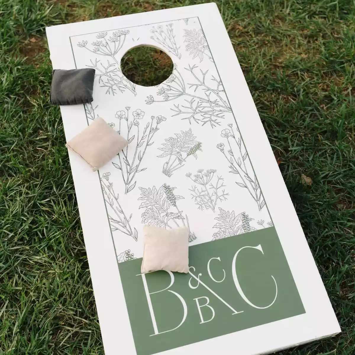 custom wedding cornhole