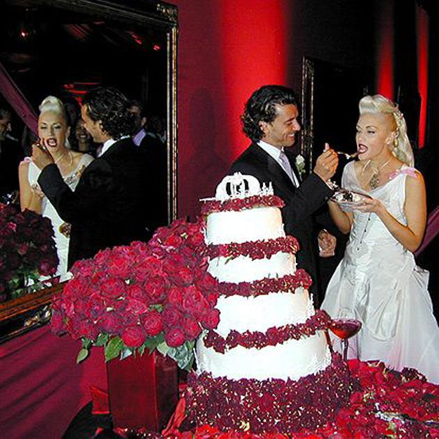 Tbt Gwen Stefani And Gavin Rossdale S Iconic Wedding Photos