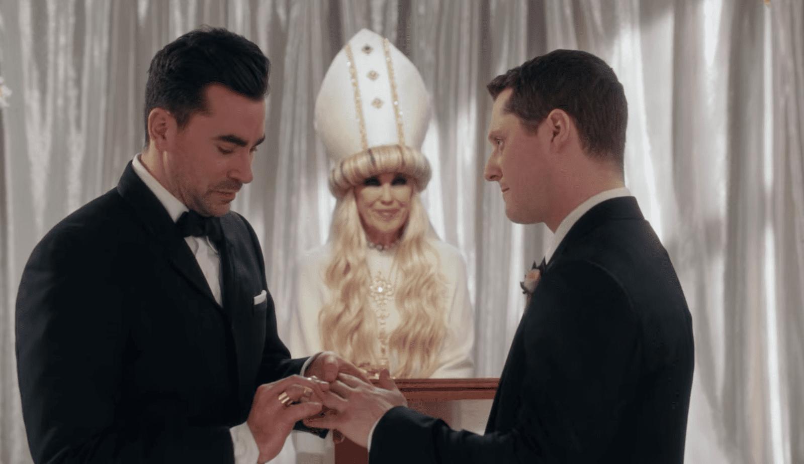 David and Patrick Wedding