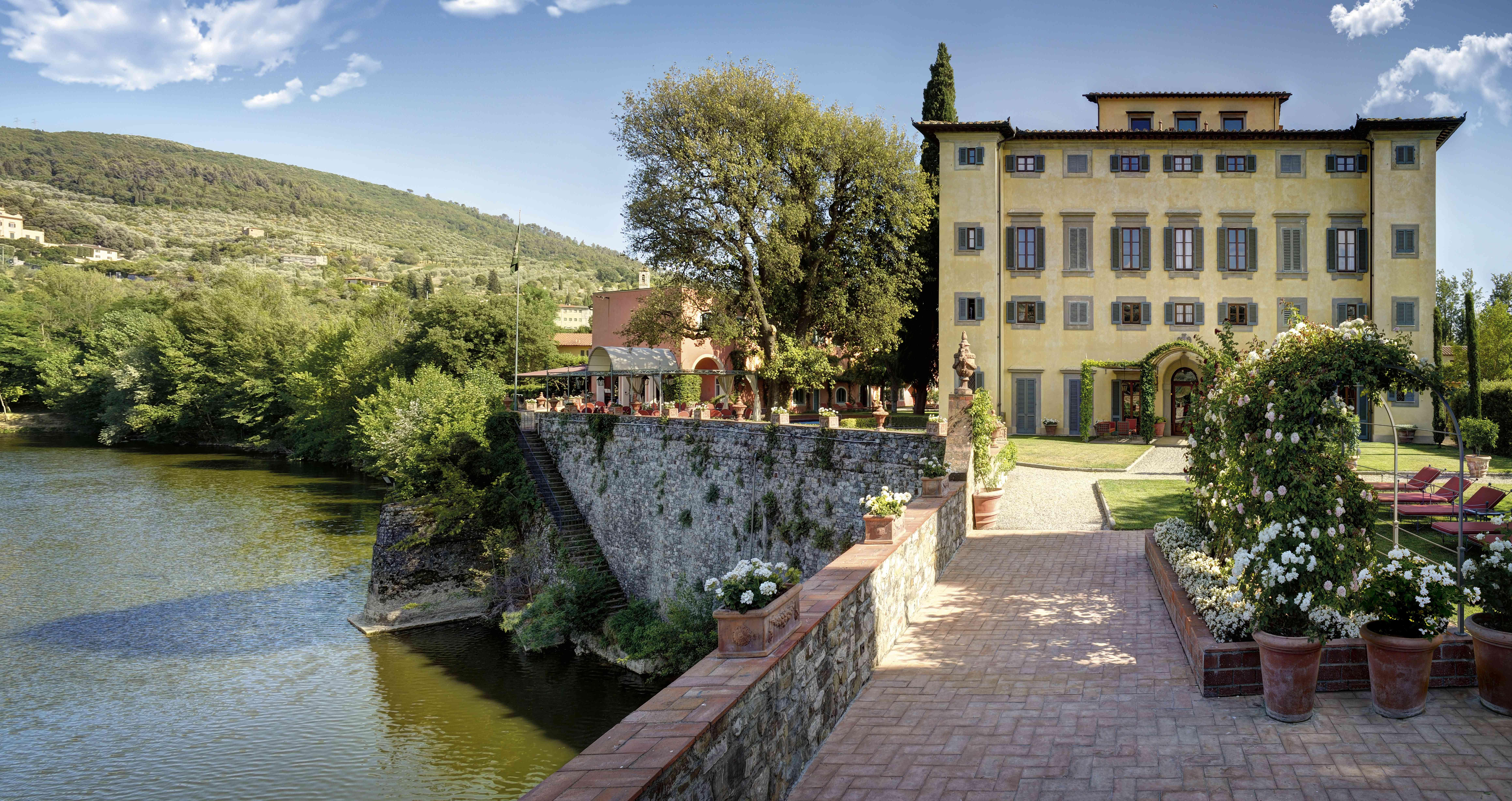 Villa La Massa Italy view