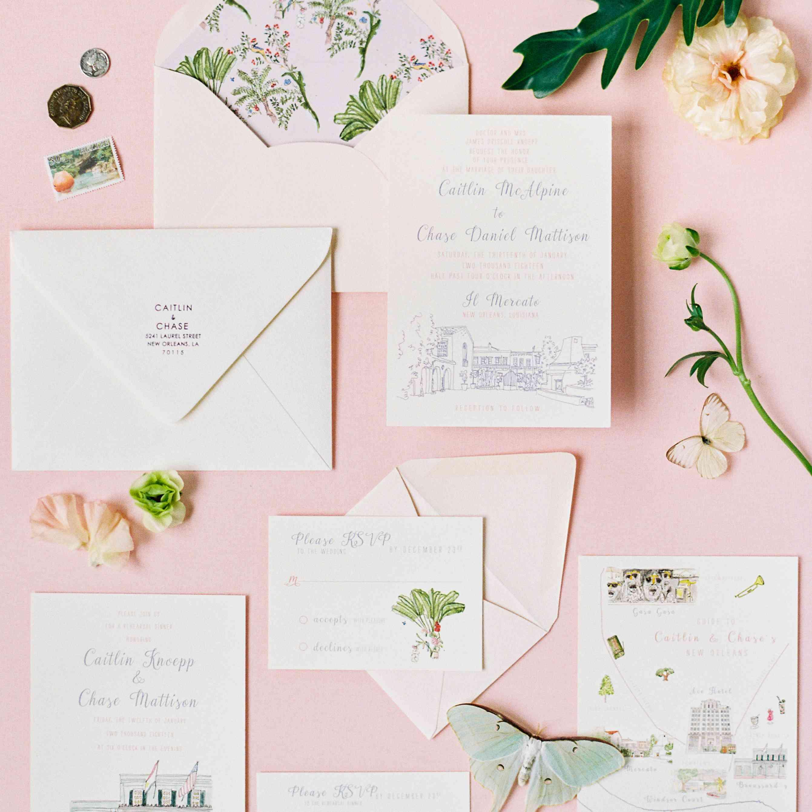 <p>wedding invitation suite</p><br><br>