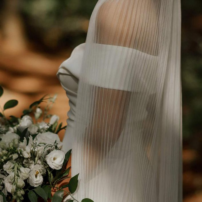 pleated Veil