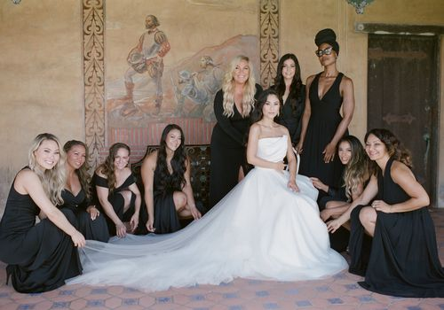 Diverse Bridesmaids