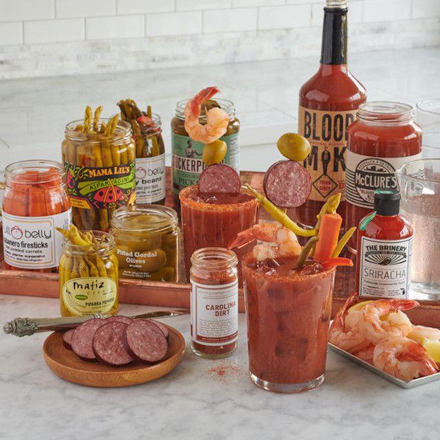 Lobster Gram Bloody Mary Bar
