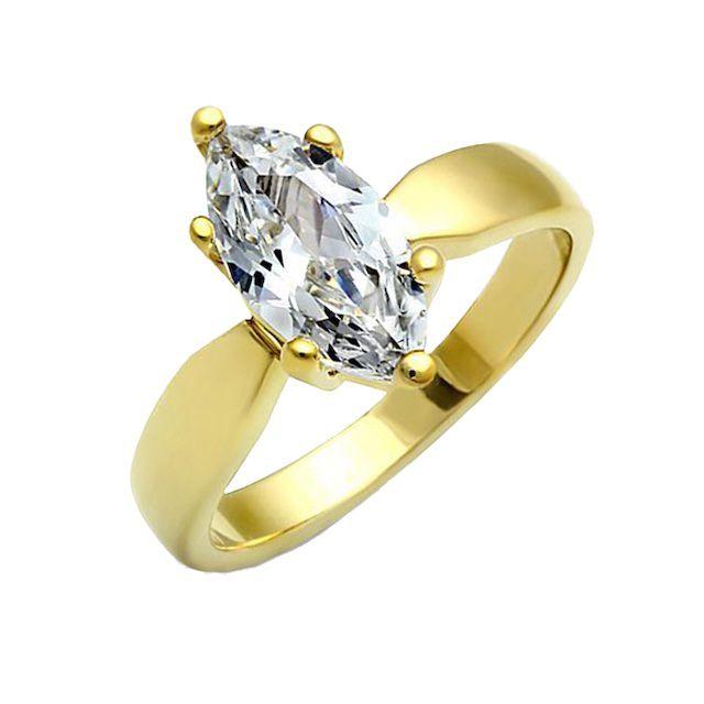 Blue Steel Francesca Ring