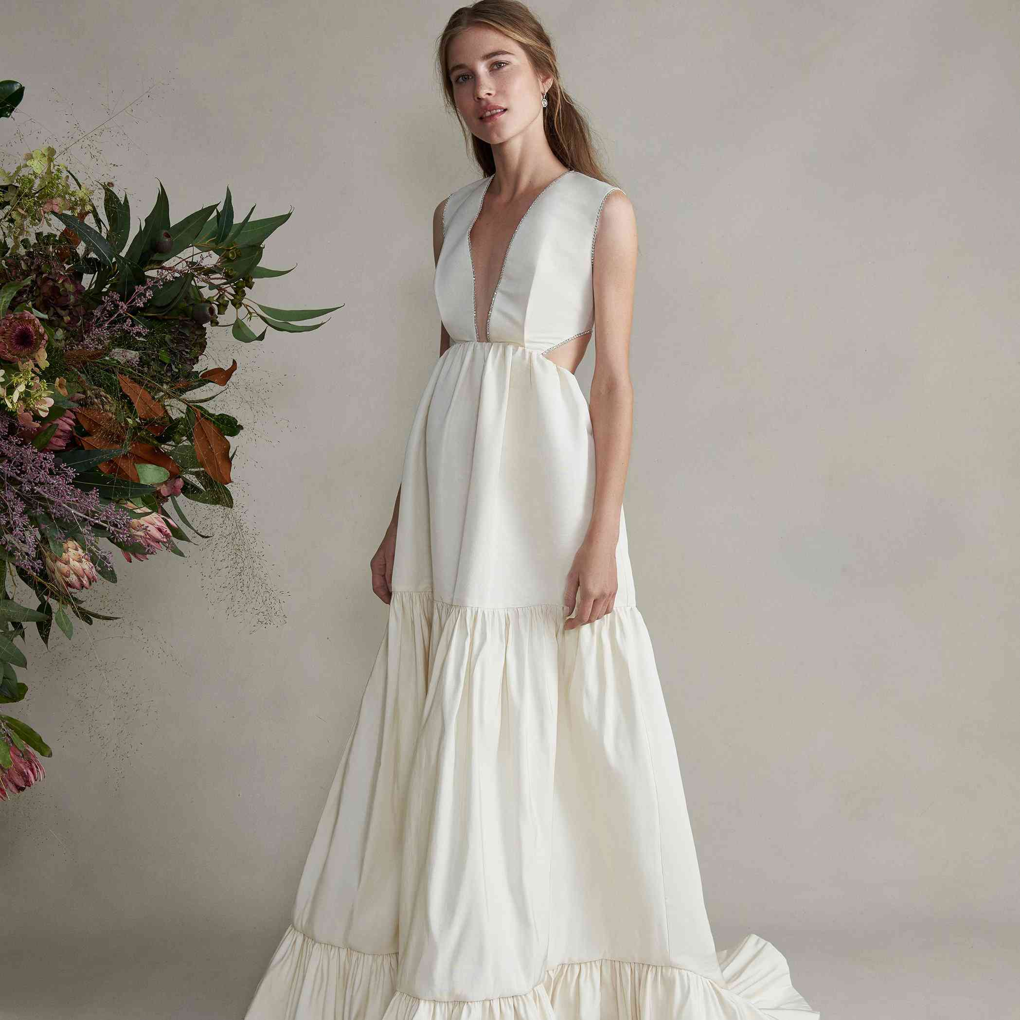 35 Beach Wedding Dresses Perfect For A Seaside Ceremony,Short Casual Plus Size Wedding Dress