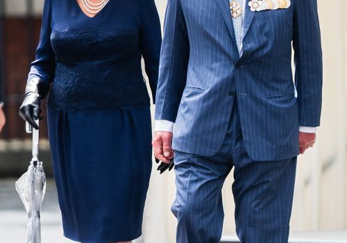 prince charles and camilla parker-bowles holding hands