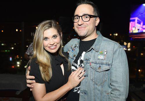 Danielle Fishel and Jensen Karp