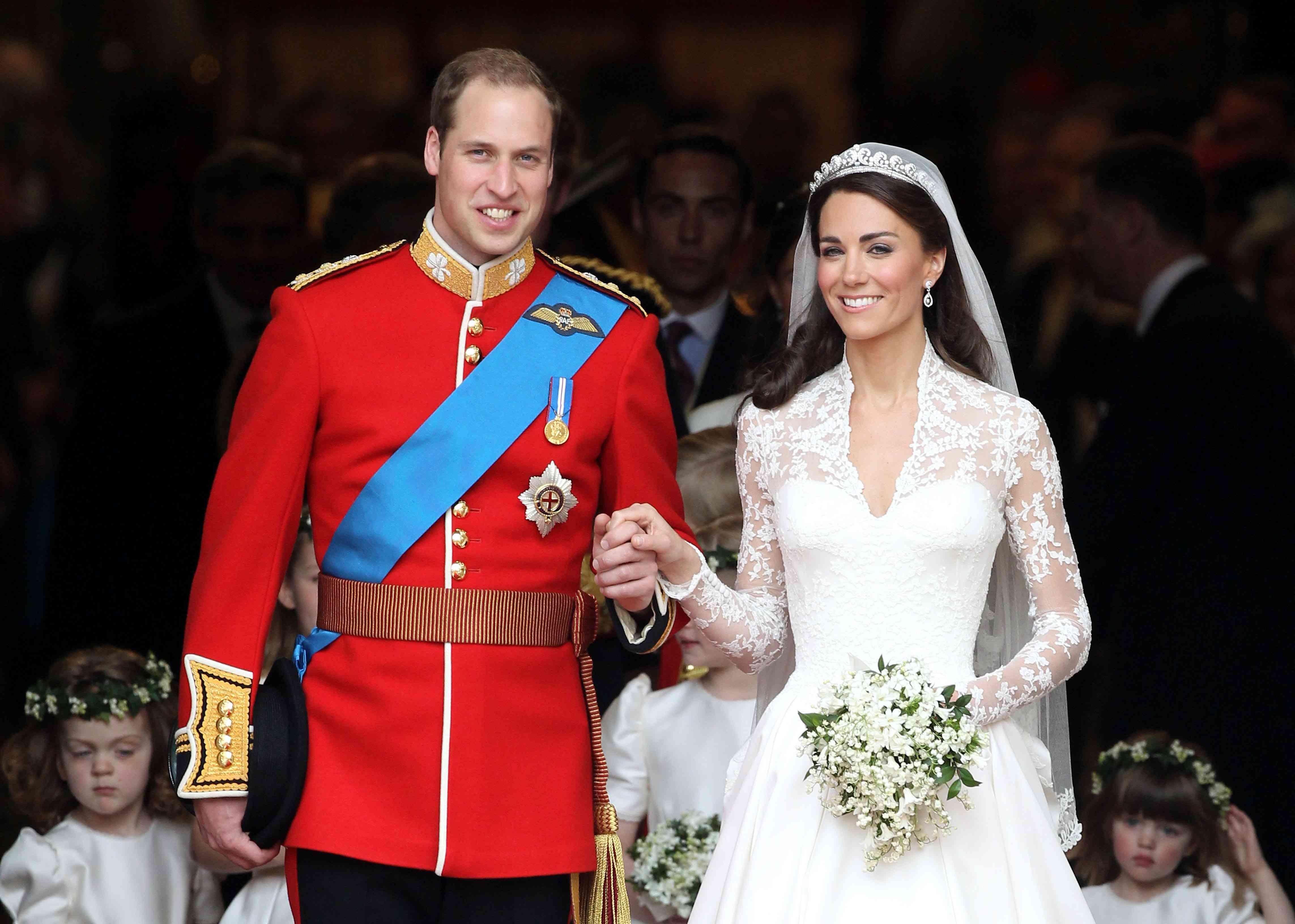 Prince William and Kate Wedding Anniversary
