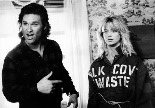 OVERBOARD, from left: Kurt Russell, Goldie Hawn, 1987, © MGM/courtesy Everett Collection