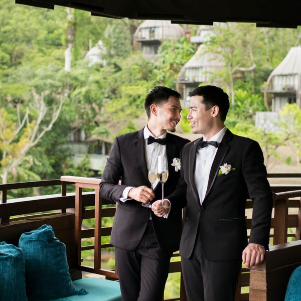 Gay wedding at Keemala resort in Phuket Thailand