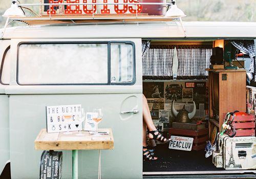 Vintage Van Photo Booth