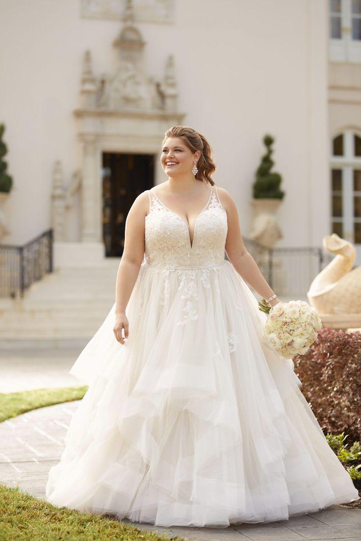 18 Best Wedding Dress Styles for Plus Sizes