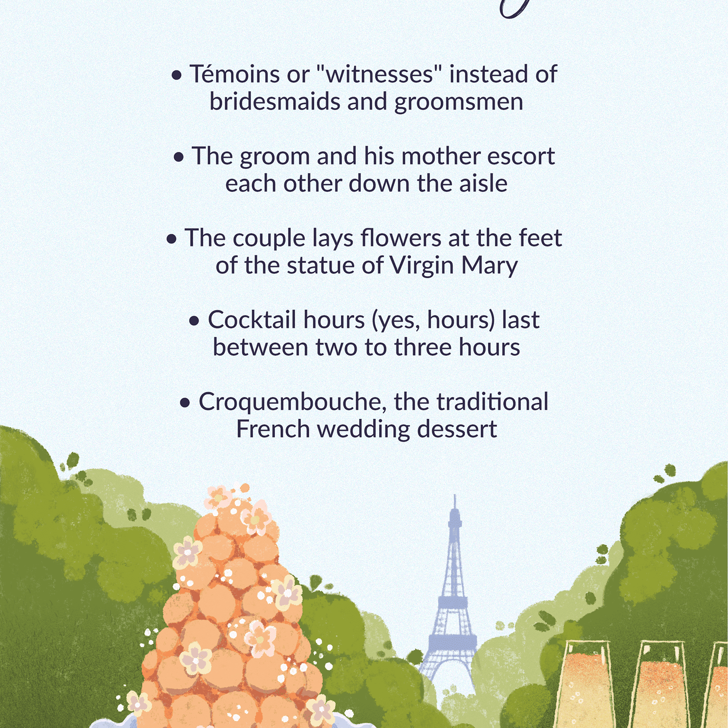 What to Expect at a French Wedding