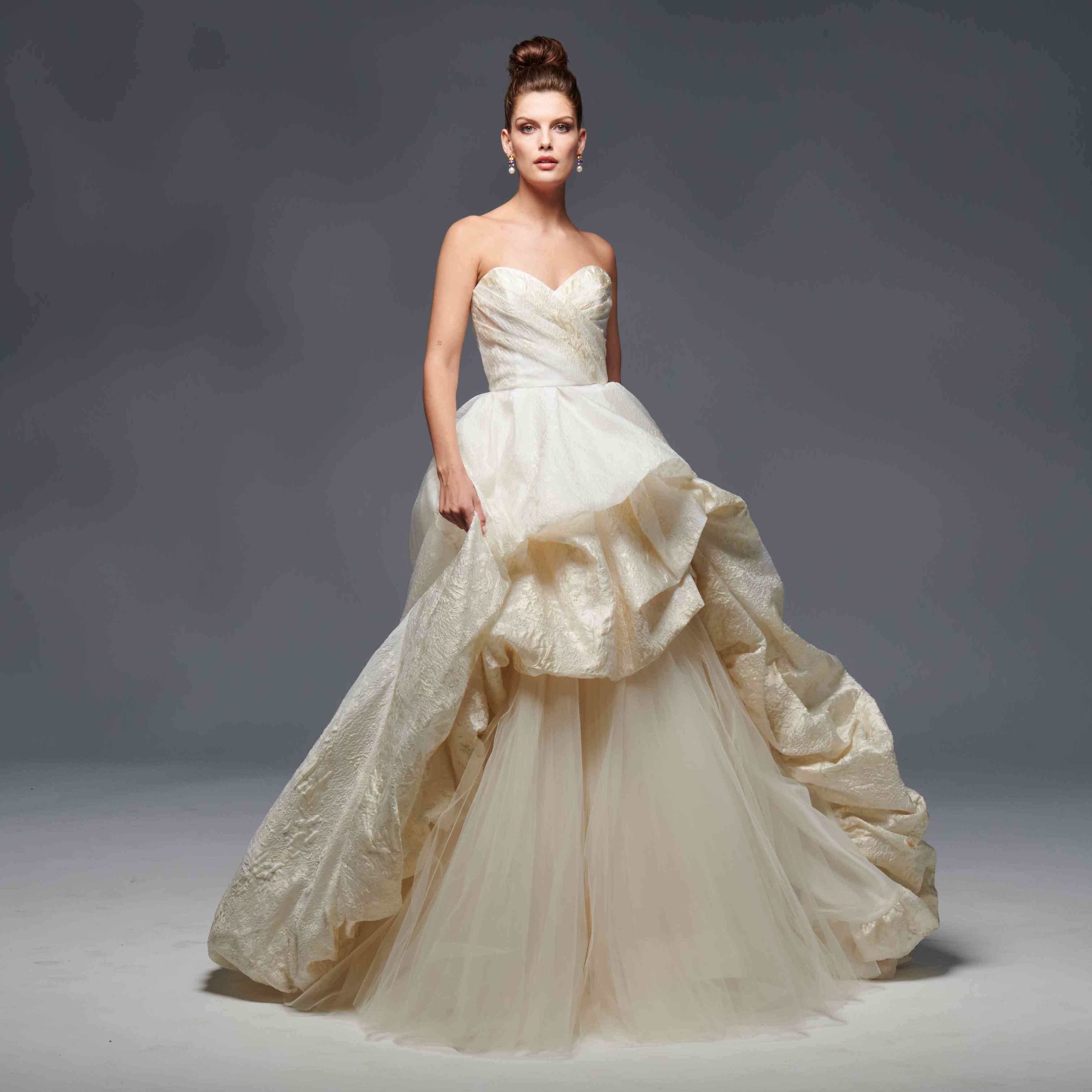Bethany strapless sweetheart wedding ball gown