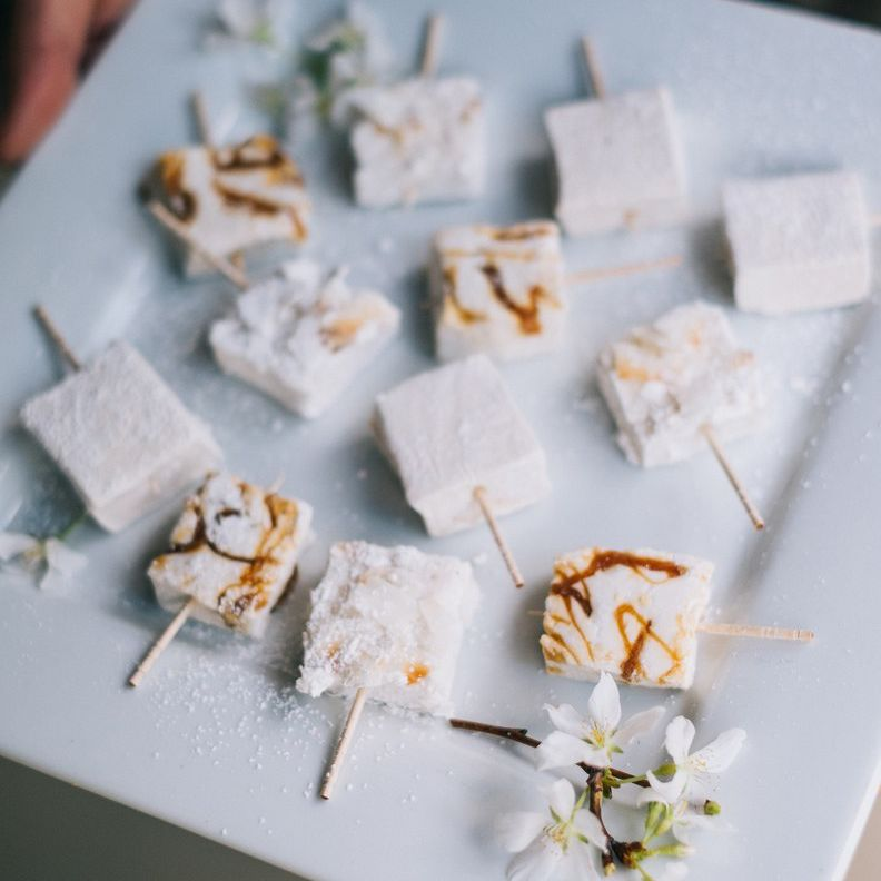 wedding food appetizers on a plate