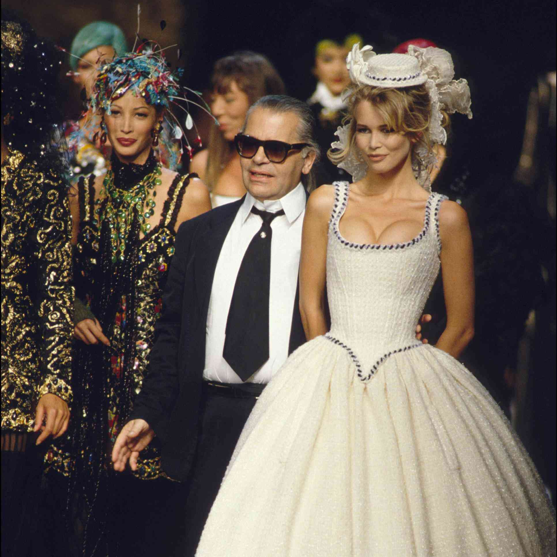 All The Chanel Couture Brides Throughout History