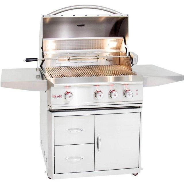 Blaze Professional LUX 34-Inch 3-Burner Propane Gas Grill
