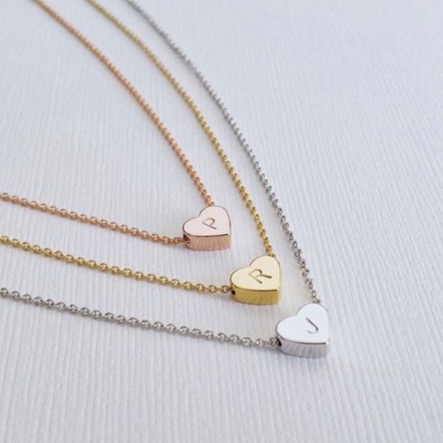 Melanie Marie Heart Charm Necklace